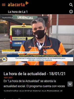Tato Vázquez Lima en La Hora de la 1 (Min 24)