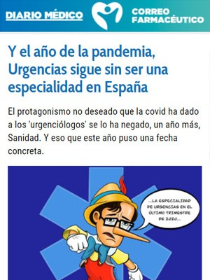 Y el año de la pandemia, Urgencias sigue sin ser una especialidad en España