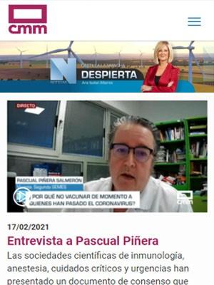 Entrevista a Pascual Piñera
