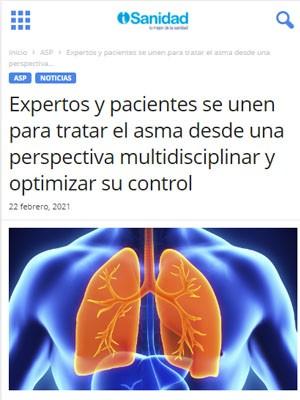 Expertos y pacientes se unen para tratar el asma desde una perspectiva multidisciplinar y optimizar su control