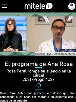 Javier Millán en El Programa de Ana Rosa (Min 70)