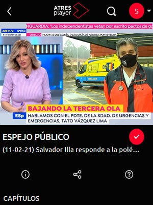 Tato Vázquez Lima en Espejo Público (Min 58)