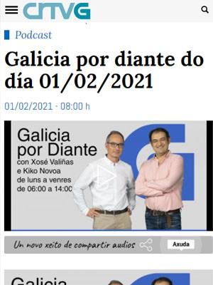 Tato Vázquez Lima en Galicia por diante do día (Min 11)