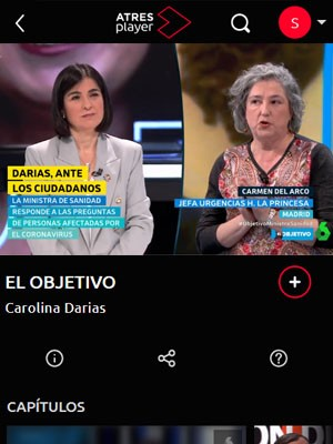 Carmen del Arco en El Objetivo (Min 35)