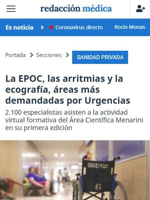 La EPOC, las arritmias y la ecografía, áreas más demandadas por Urgencias