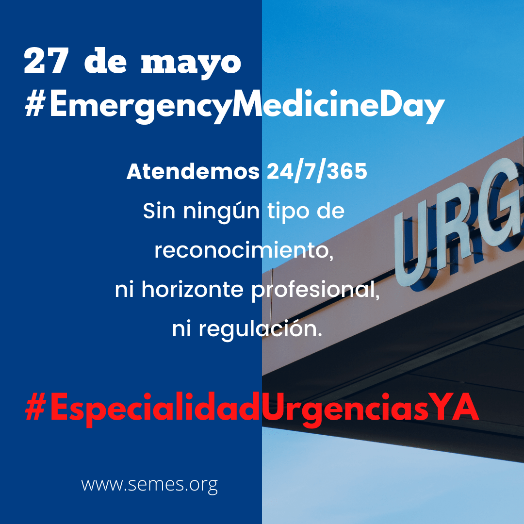 #EspecialidadUrgenciasYA