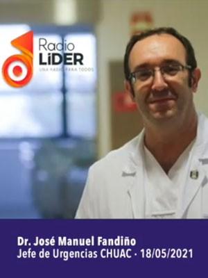 Jose Manuel Fandiño en Radio Líder