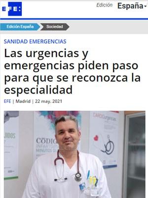 Las urgencias y emergencias piden paso para que se reconozca la especialidad