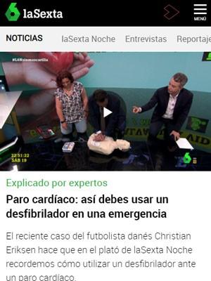 Paro cardíaco: así debes usar un desfibrilador en una emergencia