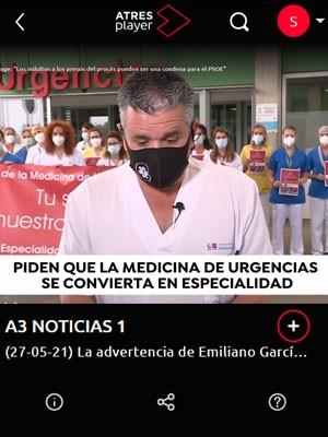 Los médicos de Urgencias de toda España salen a la calle para pedir que se reconozca su especialidad