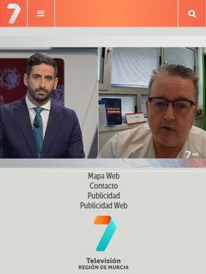 El Dr. Piñera habla sobre la incidencia del COVID-19 en la población