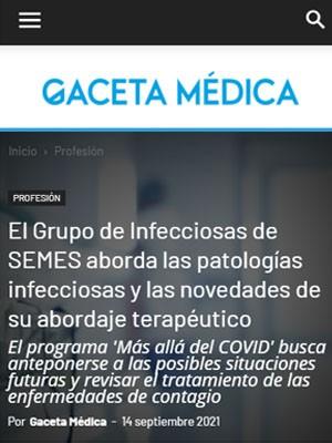 El Grupo de Infecciosas de SEMES aborda las patologías infecciosas y las novedades de su abordaje terapéutico